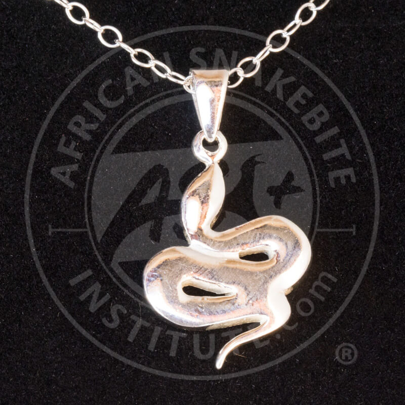 Asi sterling silver fat snake pendant african snakebite institute home shop jewellery asi sterling silver fat snake pendant aloadofball Image collections