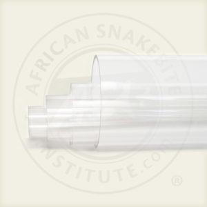 ASI Snake Tubes, Transparent