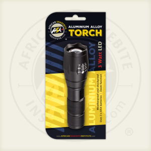 ASI Torch, 3 Watt LED, Aluminium Alloy