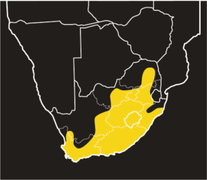 ASI Aurora House Snake Distribution Map