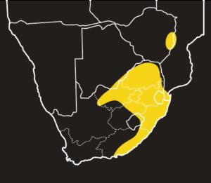 ASI Bibron's Blind Snake Distribution Map