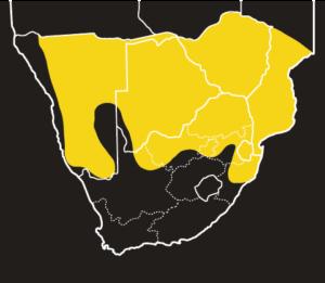 ASI Eastern Tiger Snake Distribution Map