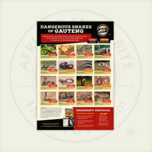 ASI Dangerous Snakes of Gauteng Poster