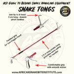 ASI Newsletter – Guide to buying Snake Handling Equipment